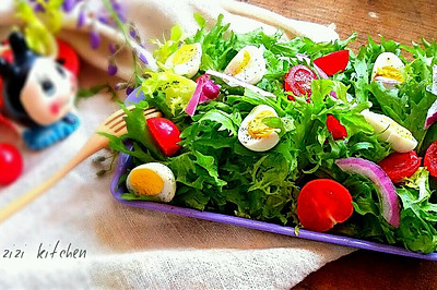 油醋沙拉---餐桌上的花园