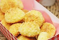 椰子丝奇曲饼的做法