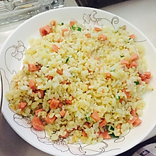 简单美味炒大米
