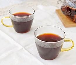 温润蔓越莓红糖姜茶的做法