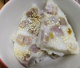 香糯芋头糕的做法