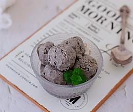 黑芝麻冰淇淋的做法