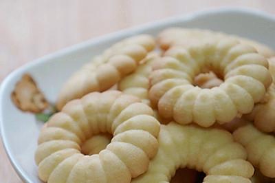 香草曲奇——饼干机初体验