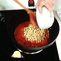 番茄烩黄豆的做法图解4