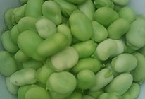 清水蚕豆的做法