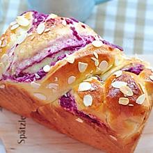 紫薯辫子土司#烘焙梦想家(华北)#