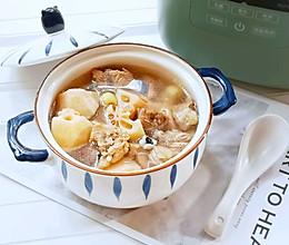 鲜美无比——莲藕排骨汤的做法