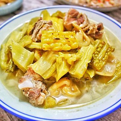 潮州咸菜苦瓜猪骨汤