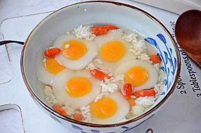 荷包蛋汤圆
