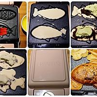 #硬核菜谱制作人#抹茶芝士奶油红豆鲷鱼烧的做法图解5