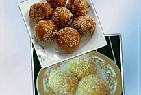豆沙红薯麻圆&红薯糯米滋的做法