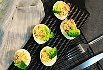鸡蛋杯沙拉的做法