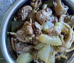超鲜香冬瓜炖鸡的做法