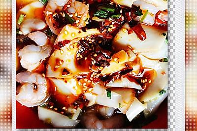 捞汁鲍鱼片(小海鲜)