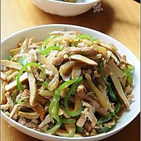 小榨菜大滋味----榨菜肉丝炒豆干