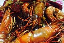 蚝油鲜香黑虎虾的做法