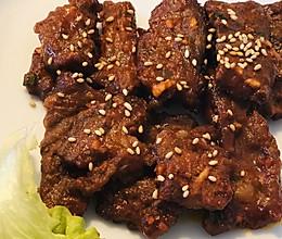 韩式辣酱烤牛里脊的做法