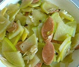 清淡素炒萝卜片的做法