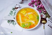 番茄年糕蔬菜汤的做法
