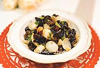 降压降脂清肺❤️炝黑木耳百合❤️养生菜的做法