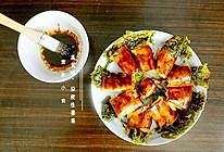 """""""蒸美味""""豆皮生菜卷的做法"""