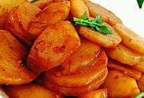 糖醋山药苹果的做法