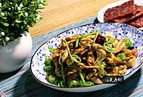 香辣干锅平菇的做法