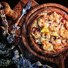 #钟于经典传统味#全家人分享的豪华至尊披萨
