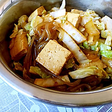白菜豆腐炖粉条