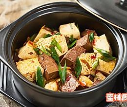 鸭血豆腐煲(红白豆腐)的做法
