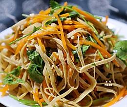 减肥必吃的凉拌菜❗️  凉拌豆腐丝 ❗️ 多吃不长胖的做法