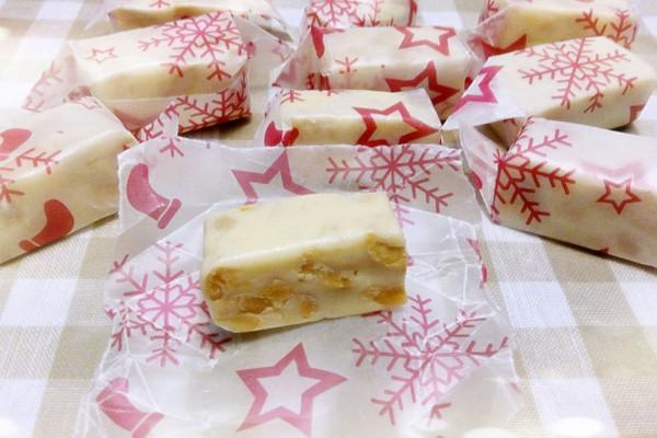 简单快手的原味花生牛轧糖---最佳的新年伴手礼的做法