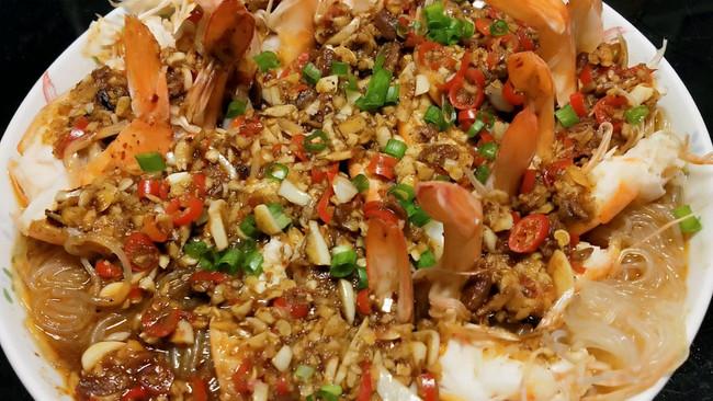 低脂蒜蓉虾的做法