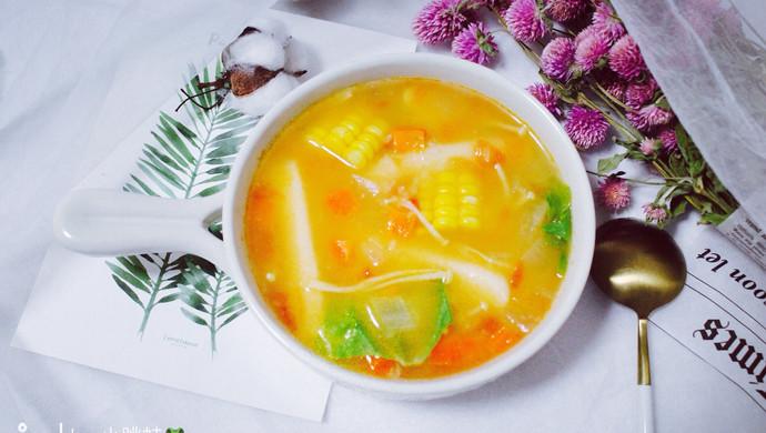 番茄年糕蔬菜汤