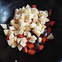 腊肉焖饭#美的初心电饭煲#的做法图解3