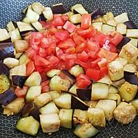 蒜柿辣酱焖茄子的做法图解2