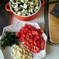 茄丁打卤面的做法图解1