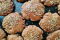 全麦红糖核桃酥的做法