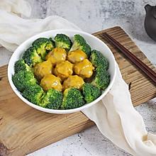 咖喱牛丸花菜拼盘