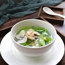 #做道懒人菜,轻松享假期#双贝丝瓜汤
