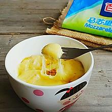 香浓芝士片焗香蕉#百吉福芝士力量#