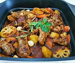 排骨三汁焖锅的做法