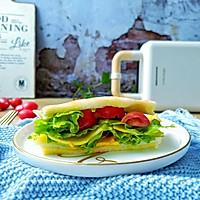 #520,美食撩动TA的心!#芝士糖心蛋吐司的做法图解10