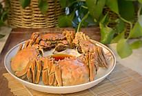 旧时王侯家中宴,今日寻常百姓清蒸大闸蟹的做法