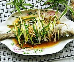 蒸鲈鱼的做法