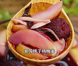 紫苏杨梅桃子姜,夏日饮品,老长沙地道小吃的做法