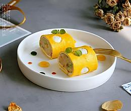 #秋天怎么吃# 早餐小食——波点蛋卷土豆泥沙拉的做法