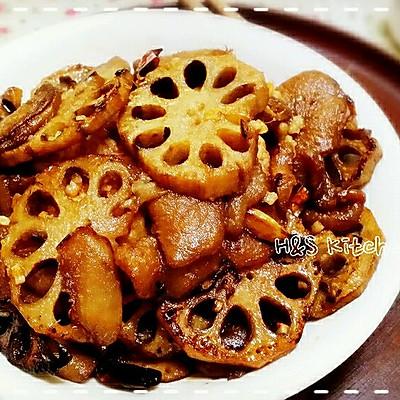 <下饭菜>莲藕炒茄子