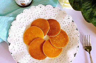 宝宝玉米小饼