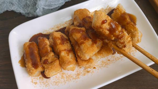 秒胜川菜馆的红糖糍粑的做法